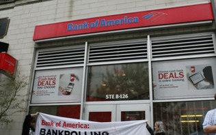 Arrests Made During BofA Protest