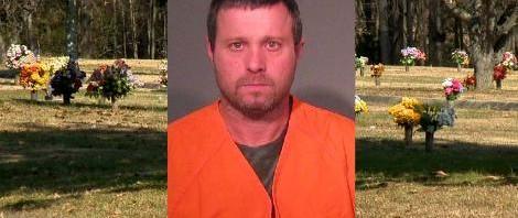 Cemetery Thief Caught