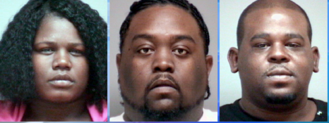 Three Arrested During Traffic Stop