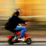 DUI For Man Whose Moped Fell Over In An Intersection