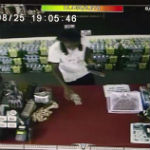 """Cameras Capture Men """"Accidentally"""" Breaking In, Paying For Items"""