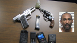 Man Arrested For Possession Of Marijuana And Firearms At Traffic Stop