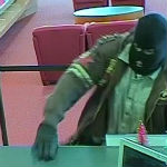 Police Searching For Ski Mask Wearing Bank Robber