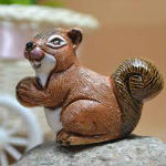 Woman Squabbles Over Beer, Stabs Man In Chest With Ceramic Squirrel
