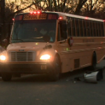 Pre-Teen Girl Steals Car, Crashes Into School Bus