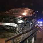 Possible Drunk Driver Sent To Hospital In Early Morning Crash