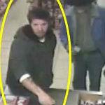 Surveillance Caught Image Of Suspected Thief