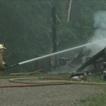 Gaston County Mobile Home Destroyed in Fire