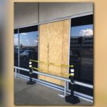 Woman Cited After Breaking Airport Window